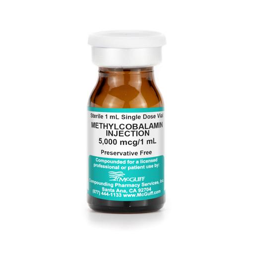 Methylcobalamin 5 mg/mL 1 mL SDV