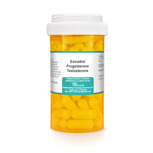 Estradiol 1mg Progesterone 50 mg Testosterone 0.5 mg Capsule