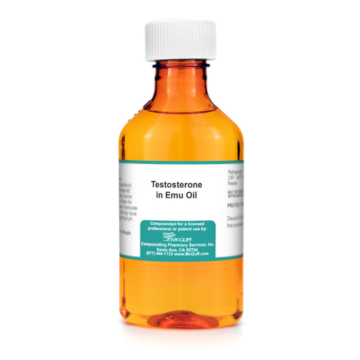 Testosterone 0.5% 30 gm in Emu Oil
