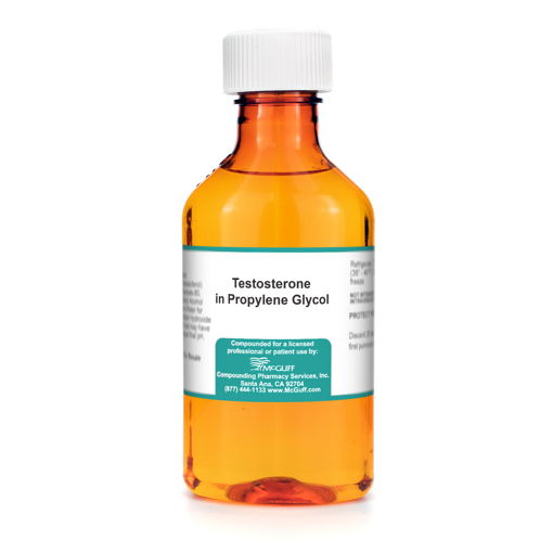 Testosterone 2% 30 mL in Propylene Glycol Topical Solution